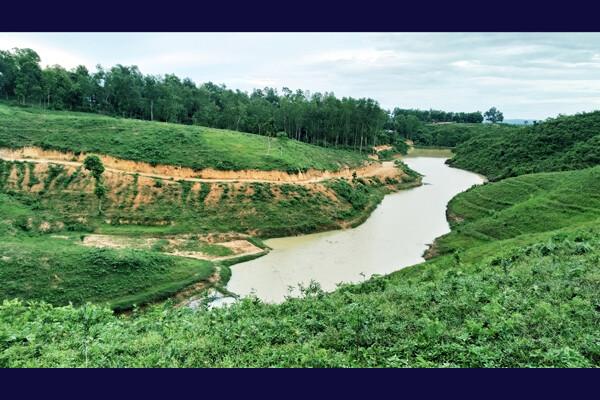 কমলগঞ্জে পর্যটকদের নতুন আকর্ষণ 'পদ্মছড়া লেক'