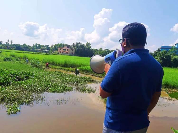 জলাবদ্ধতা নিরসনে 'মরা গোগালি' ছড়া বাঁচানোর উদ্যোগ